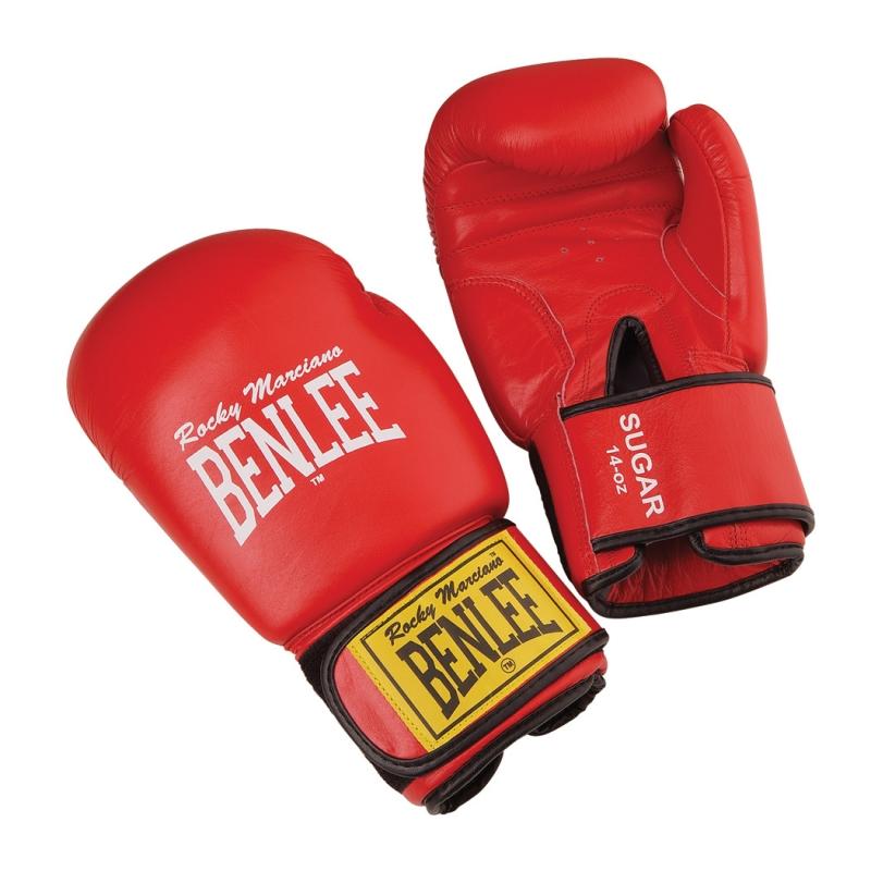 Benlee Boxhandschuh Sugar (Größe: 16 Unzen, 001 rot) Preisvergleich