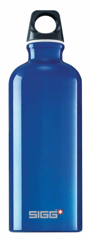 Sigg Trinkflasche Traveller (Größe: 0,6 Liter, Farbe: 400 blau) Preisvergleich