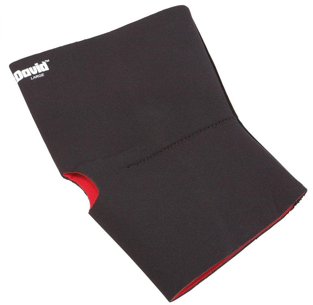 McDavid Knie Bandage (Größe: XL (Umfang = 43-50 cm), Farbe: schwarz)