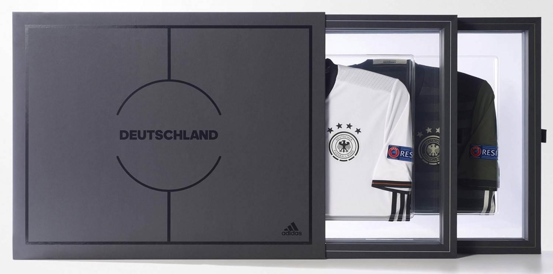 adidas Collectors Jersey Sammlerpaket Deutsche Nationalmannschaft (Größe: M, white/black)