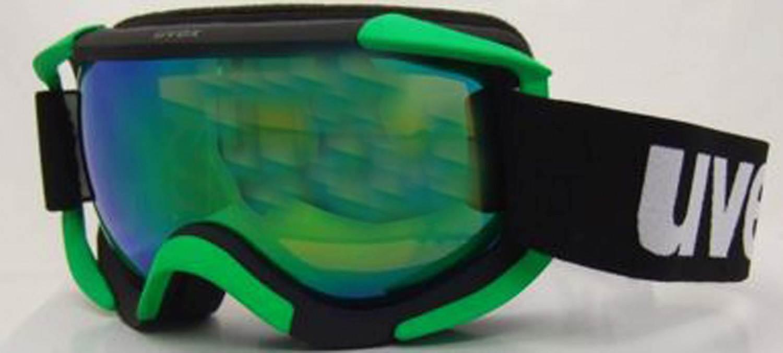 uvex-skibrille-sioux-farbe-2026-black-green-litemirror-green-clear-