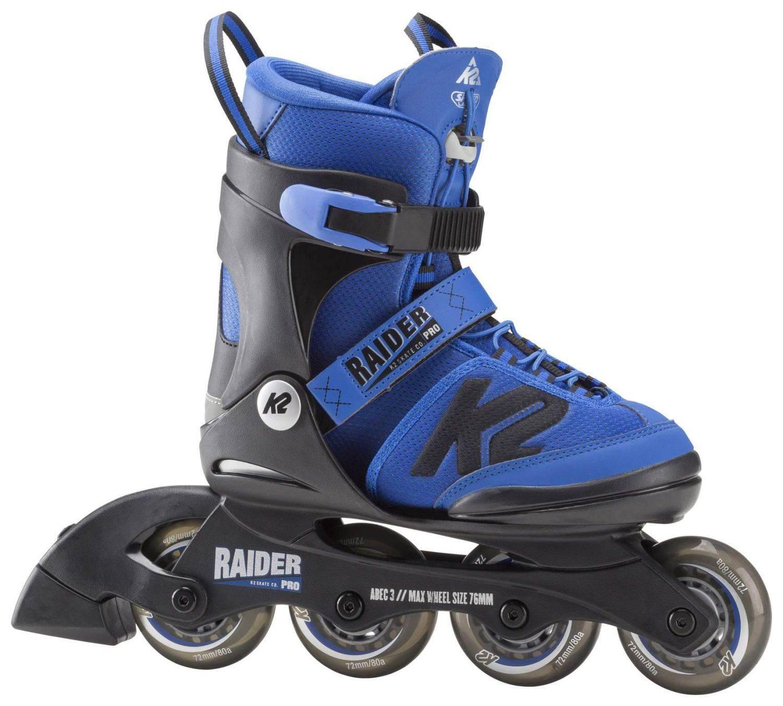 K2 Raider Pro Inlineskate Boy (Größe 35.0 40.0 (L), blau schwarz)