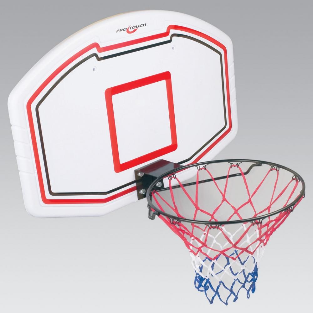 Pro Touch Basketball Board-Set (Farbe: 100 weiß/schwarz/rot) Preisvergleich