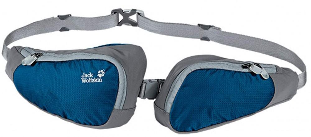 Jack Wolfskin Twin Sling Hüfttasche (Farbe: 1113 matisse blue)