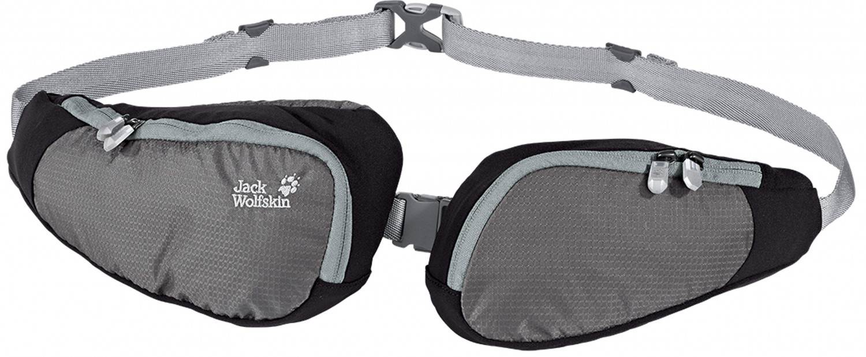 Jack Wolfskin Twin Sling Hüfttasche (Farbe: 6011 tarmac grey)