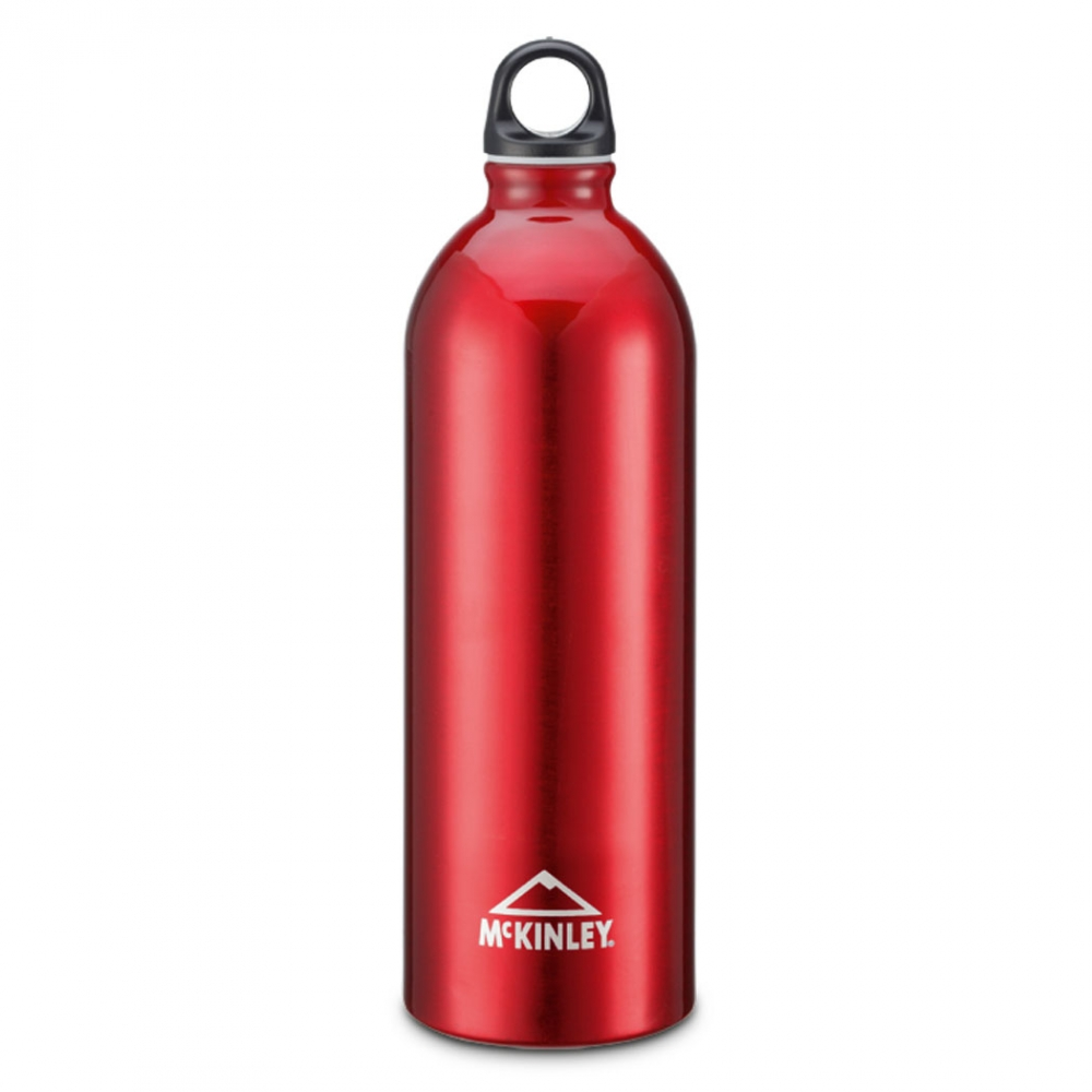 Gablenz Angebote McKinley Alu-Trinkflasche 1,0 Liter (Farbe: 251 dunkelrot)