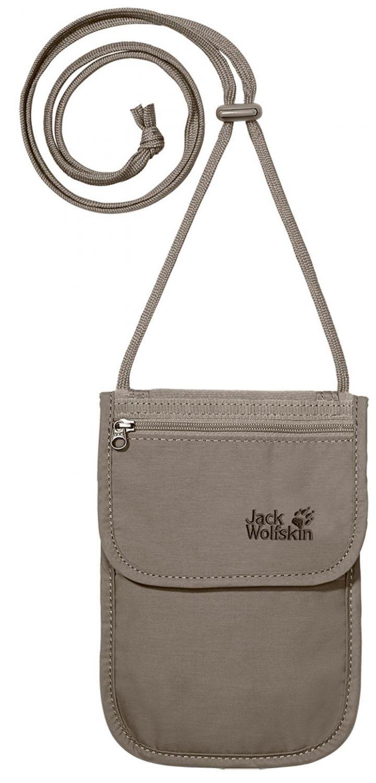 Jack Wolfskin Passport Breast Pouch (Farbe: 590 silver mink)