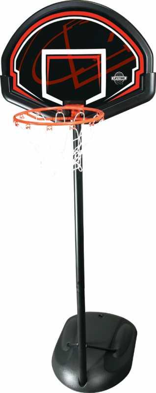 Lifetime Basketballanlage Chicago (Farbe: schwarz)