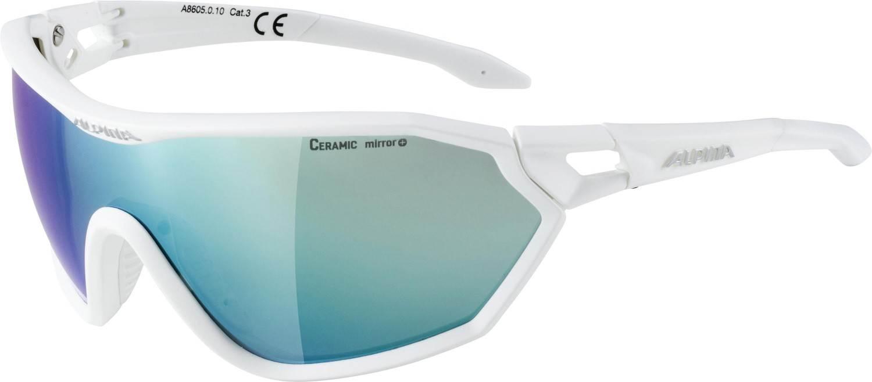 alpina-s-way-ceramic-mirror-sportbrille-farbe-010-white-matt-ceramic-mirror-scheibe-emerald-mir, 74.90 EUR @ sportolino-de