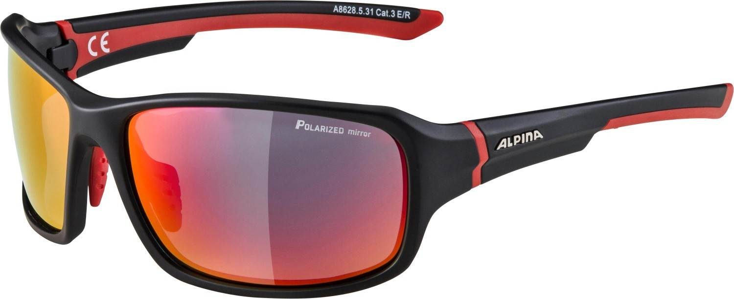 alpina-lyron-polarized-sportbrille-farbe-531-black-matt-red-scheibe-polarized-mirror-red-mirror