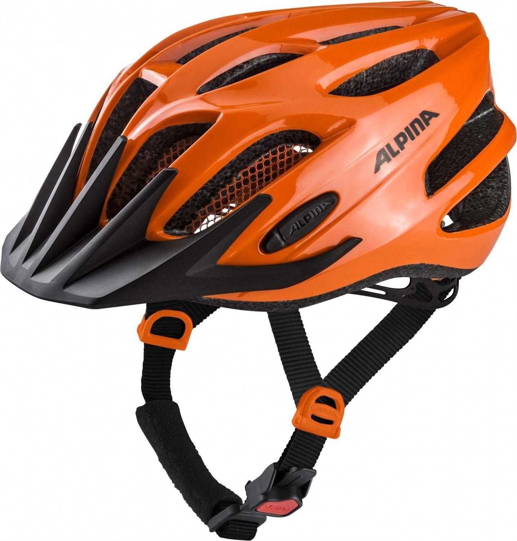 Alpina Firebird Junior 2.0 Kinderfahrradhelm (Größe 50 55 cm, 42 orange black)