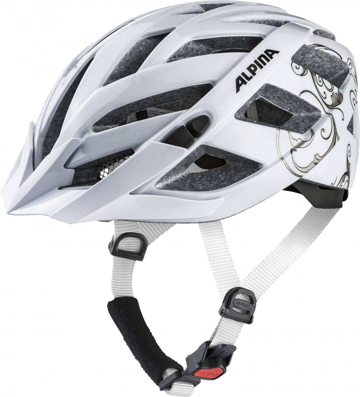 Alpina Panoma 2.0 Fahrradhelm (Größe: 52-57 cm, 12 white/prosecco) Preisvergleich