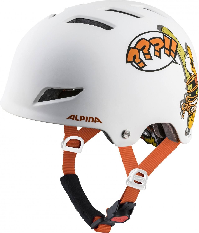 Alpina Park Junior Fahrradhelm (Größe 51 55 cm, 11 Disney Donald Duck)
