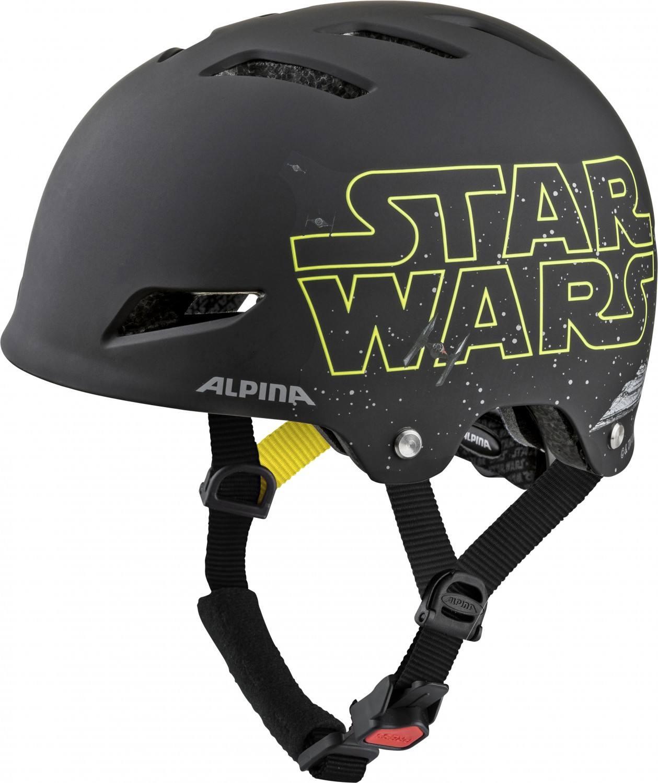 Alpina Park Junior Fahrradhelm (Größe 51 55 cm, 30 Star Wars black)