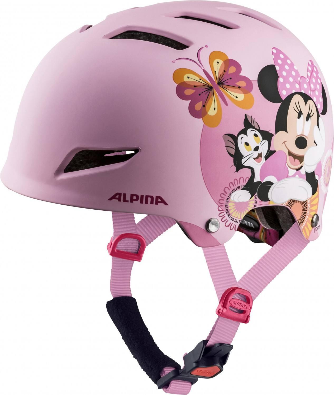 Alpina Park Junior Fahrradhelm (Größe 51 55 cm, 50 Disney Minnie Mouse)