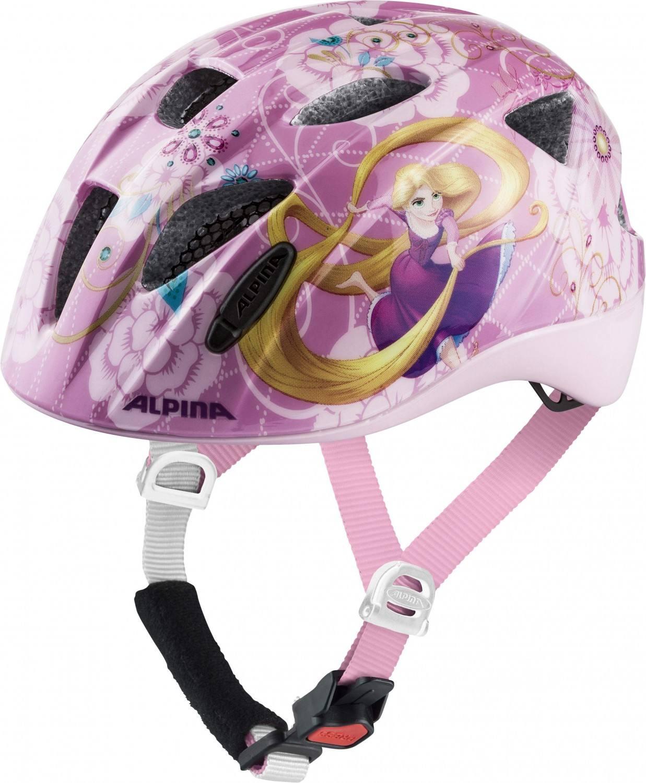 Alpina Ximo Kinder Fahrradhelm (Größe 47 51 cm, 50 Disney Rapunzel)