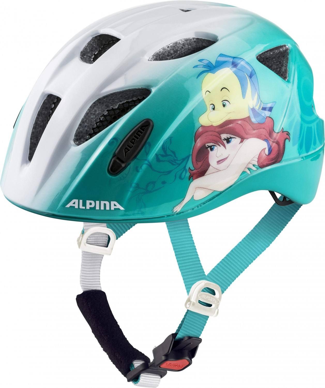 Alpina Ximo Kinder Fahrradhelm (Größe 45 49 cm, 80 Disney Ariel)