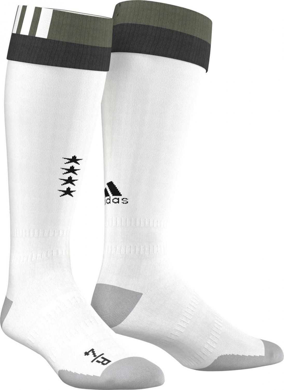 adidas DFB Away Stutzen Deutschland (Größe: 37-39, off white/base green s15)