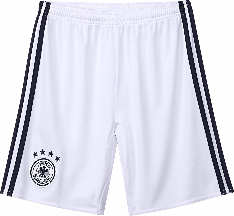 adidas DFB Home Goalkeeper Short Kinder Torwarthose (Größe: 128, white/black)