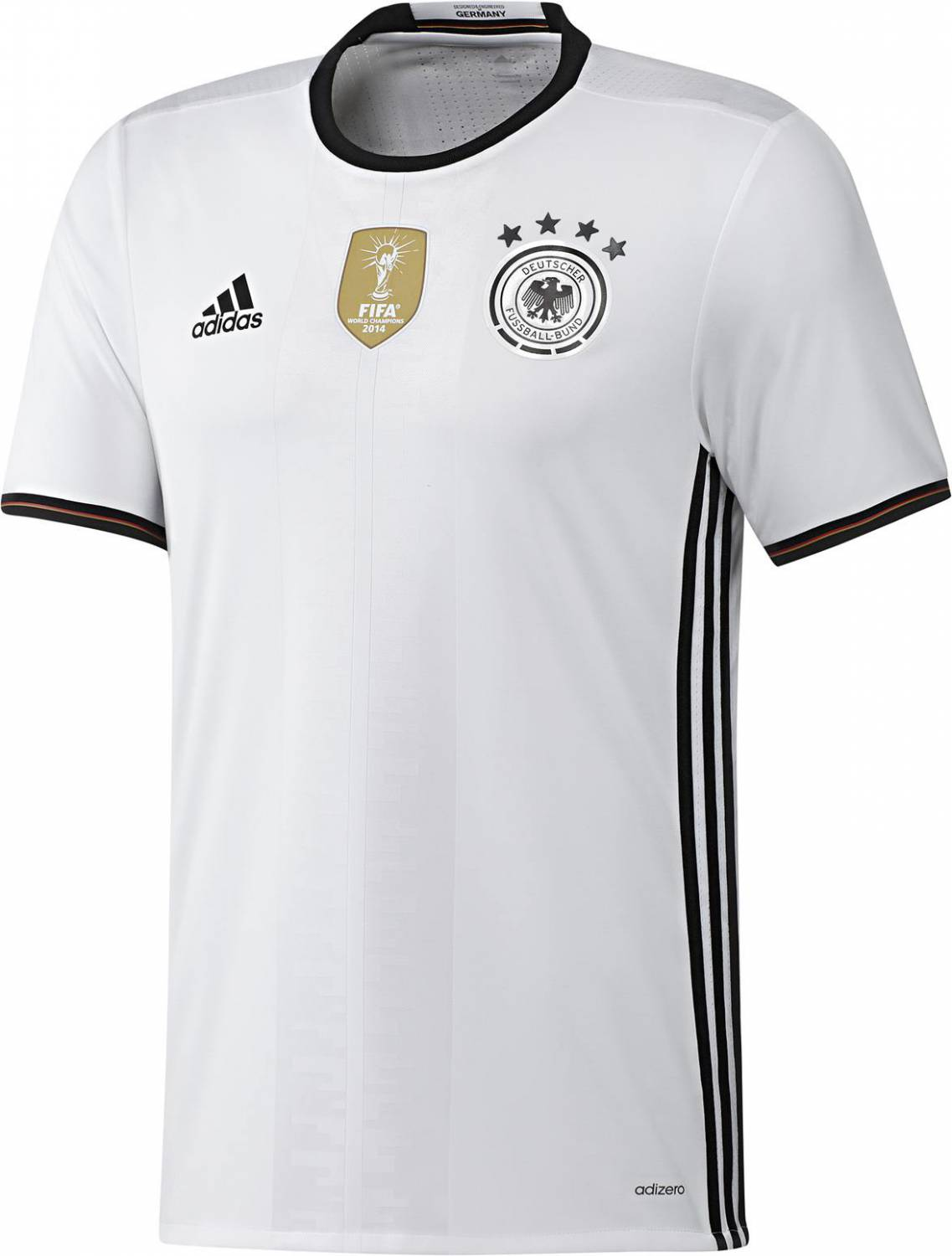 adidas DFB Home Authentic Jersey Trikot (Größe: XL, white/black)
