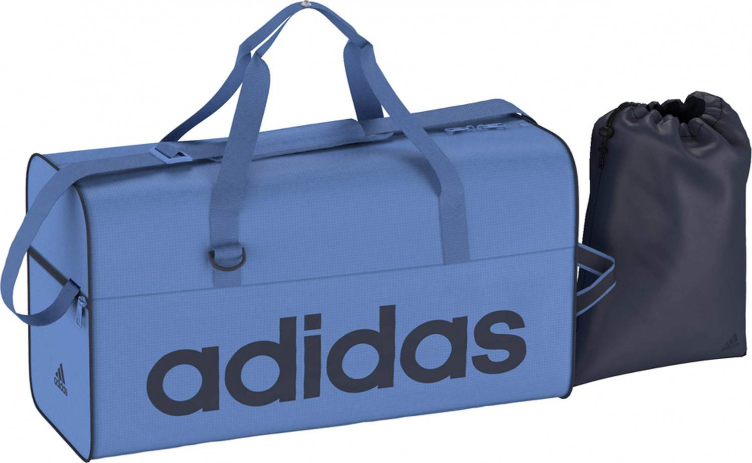 adidas Linear Performance Teambag M Sporttasche (Farbe: super blue f15/collegiate navy/collegiate navy)