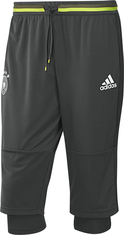 adidas DFB 3/4 Trainingshose EM 2016 (Größe: M, dgh solid grey)