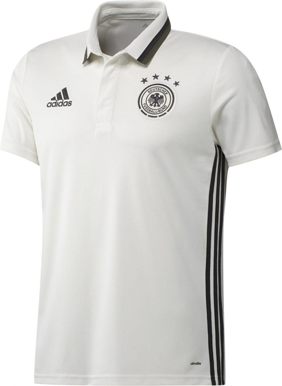 adidas DFB Poloshirt EM 2016 (Größe: M, off white)