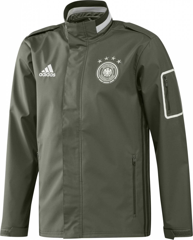 adidas DFB Travel Jacket EM 2016 (Größe: M, base green s15)