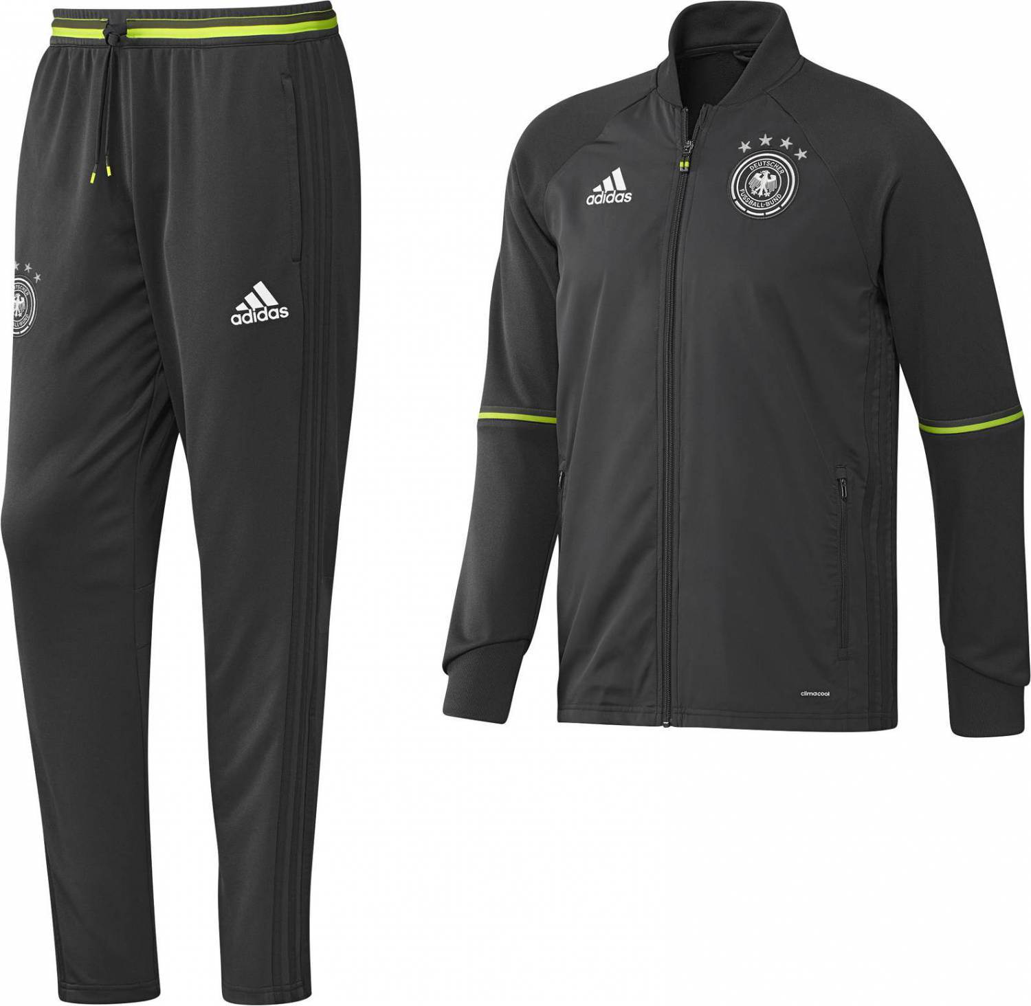 adidas dfb trainingsanzug em 2016 ebay. Black Bedroom Furniture Sets. Home Design Ideas