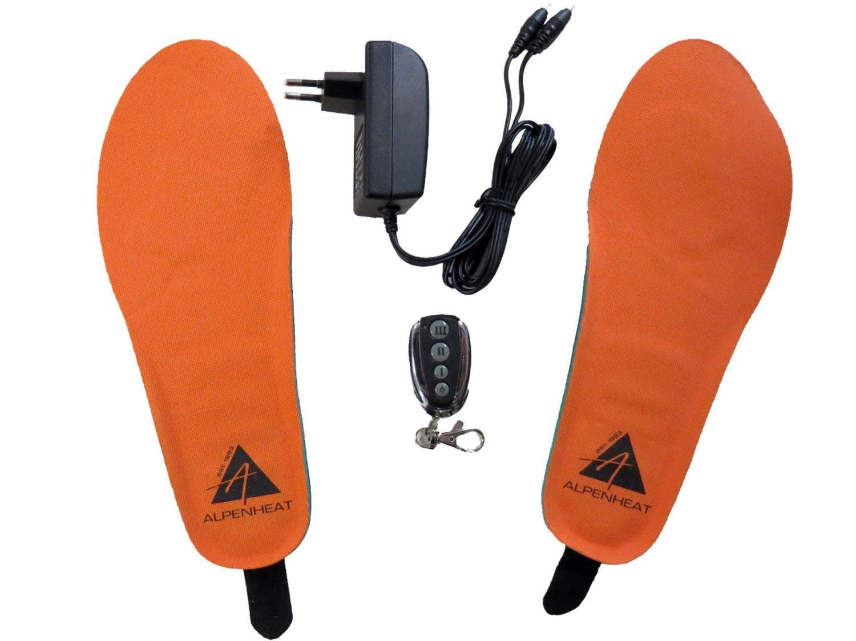 Griesen Angebote Alpenheat Wireless Hotsole Schuhheizung mit Funkfernbedienung (Größe: L/XL = 41-46, 01 orange)