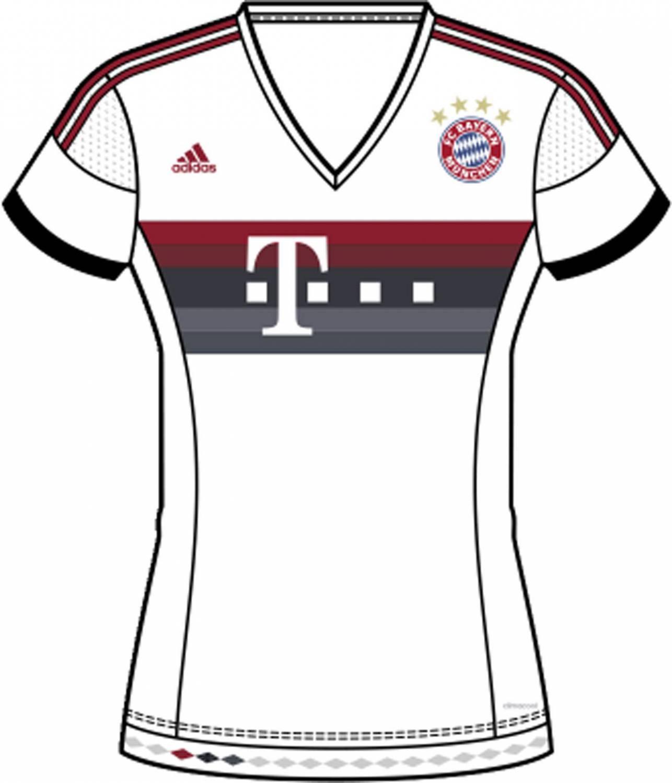 adidas FC Bayern Auswärtstrikot Damen (Größe: L 42-44), white/power red/night navy/bold onix) Sale Angebote Grunewald