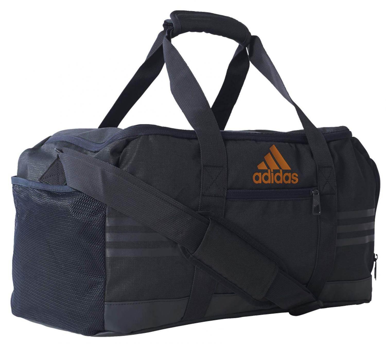 adidas 3S Performance Teambag S Tasche (Farbe: dark grey/dark grey/eqt orange s16)