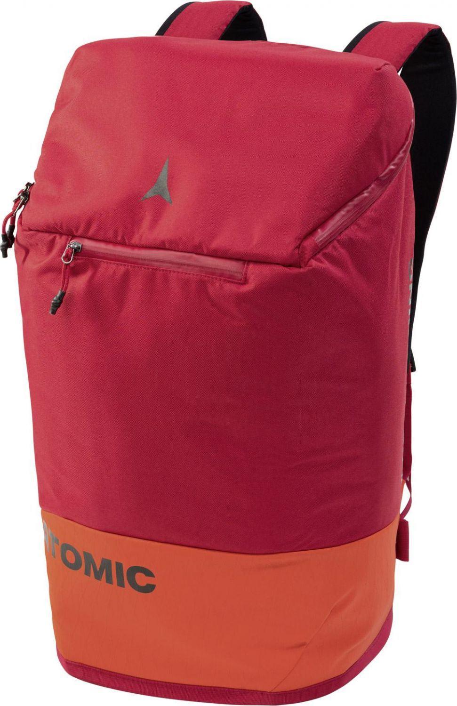 Atomic Skihelm Rucksack 45 Liter (Farbe: red/bright red)
