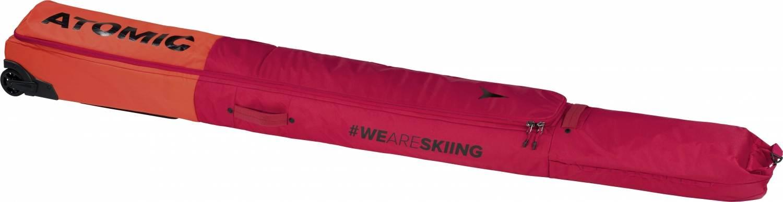 Atomic Double Ski Wheelie Skitasche (Farbe: red/bright red)