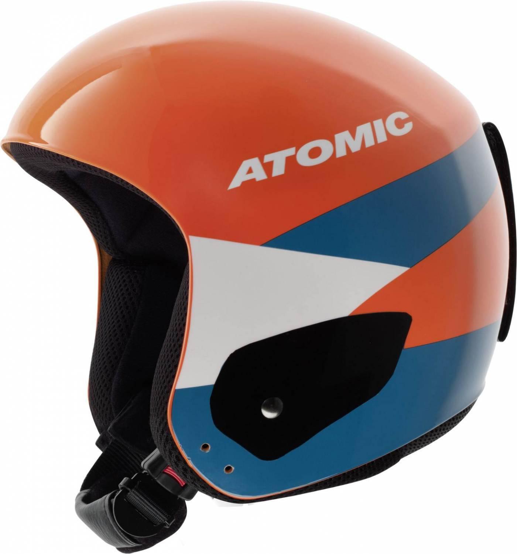 Atomic Redster Replika Skihelm (Kopfumfang: 56-57 cm, orange)