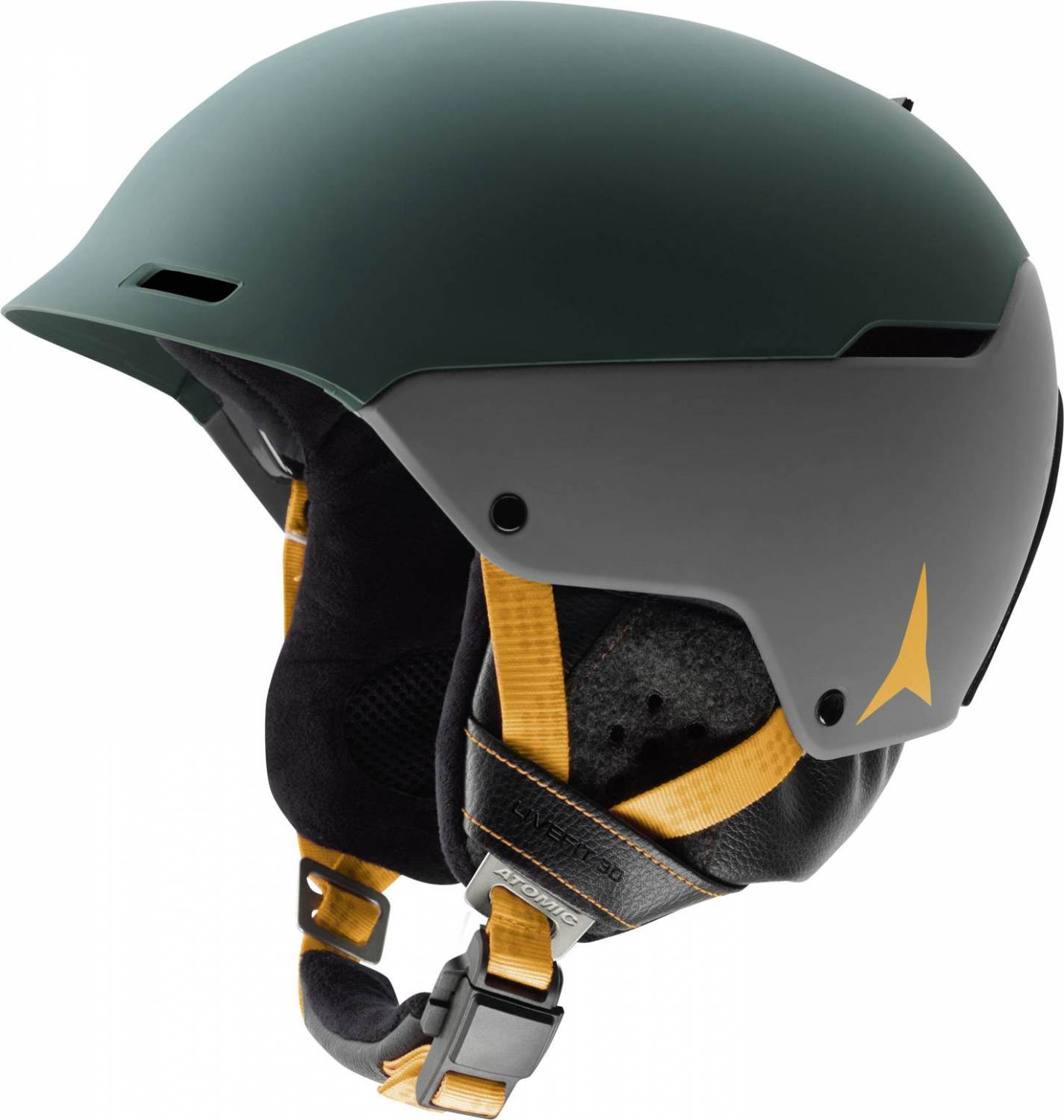 Atomic Automatic Live Fit 3D Skihelm (Kopfumfang: 56-59 cm, grey/green)