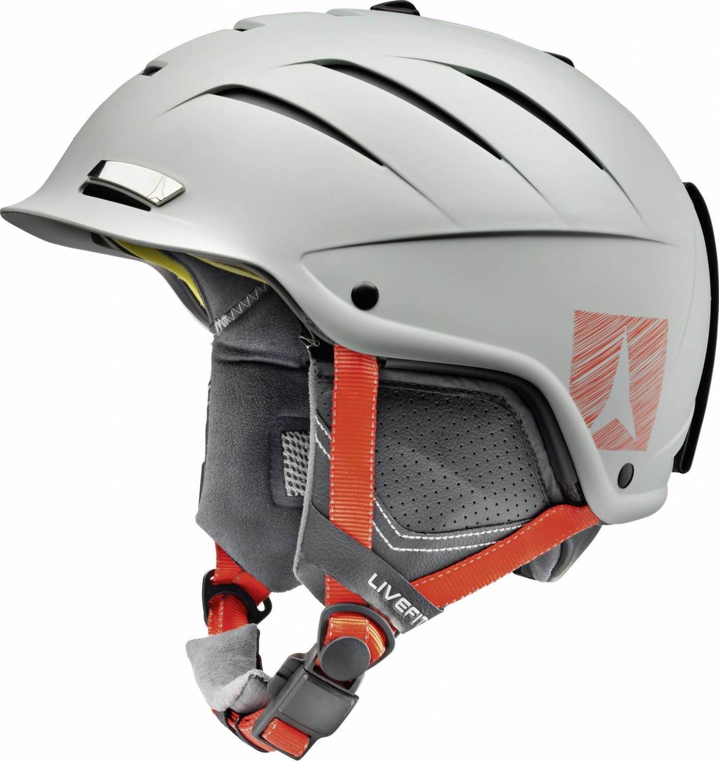 Atomic Nomad Live Fit Allmountain Skihelm (Größe: 59-62 cm, grey)
