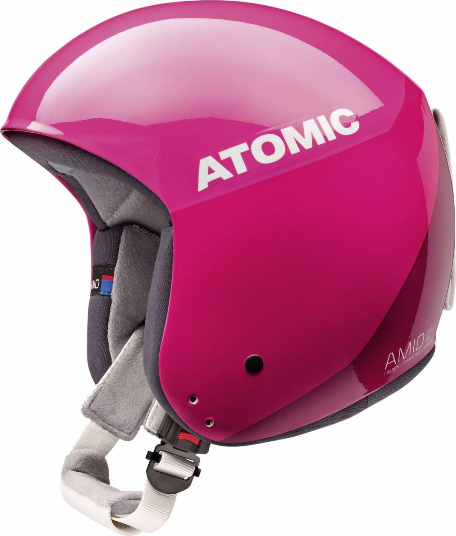 Atomic Redster World Cup Amid Skihelm (Größe: 58-59 cm, pink)