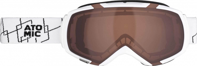 Atomic Revel M Skibrille (Farbe: white/amber)
