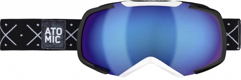 Atomic Revel 3S Skibrille (Farbe: black/white/blue)