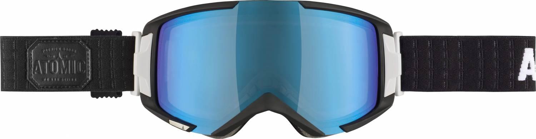 Atomic Savor 2M Brillenträgerskibrille (Farbe: black/mid blue)