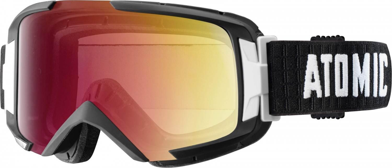 Atomic Savor Multilayer Skibrille (Farbe: black/light red)