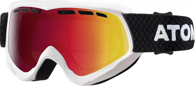 Atomic Savor Junior Multilayer Skibrille (Farbe: white/mid red) Sale Angebote Kathlow
