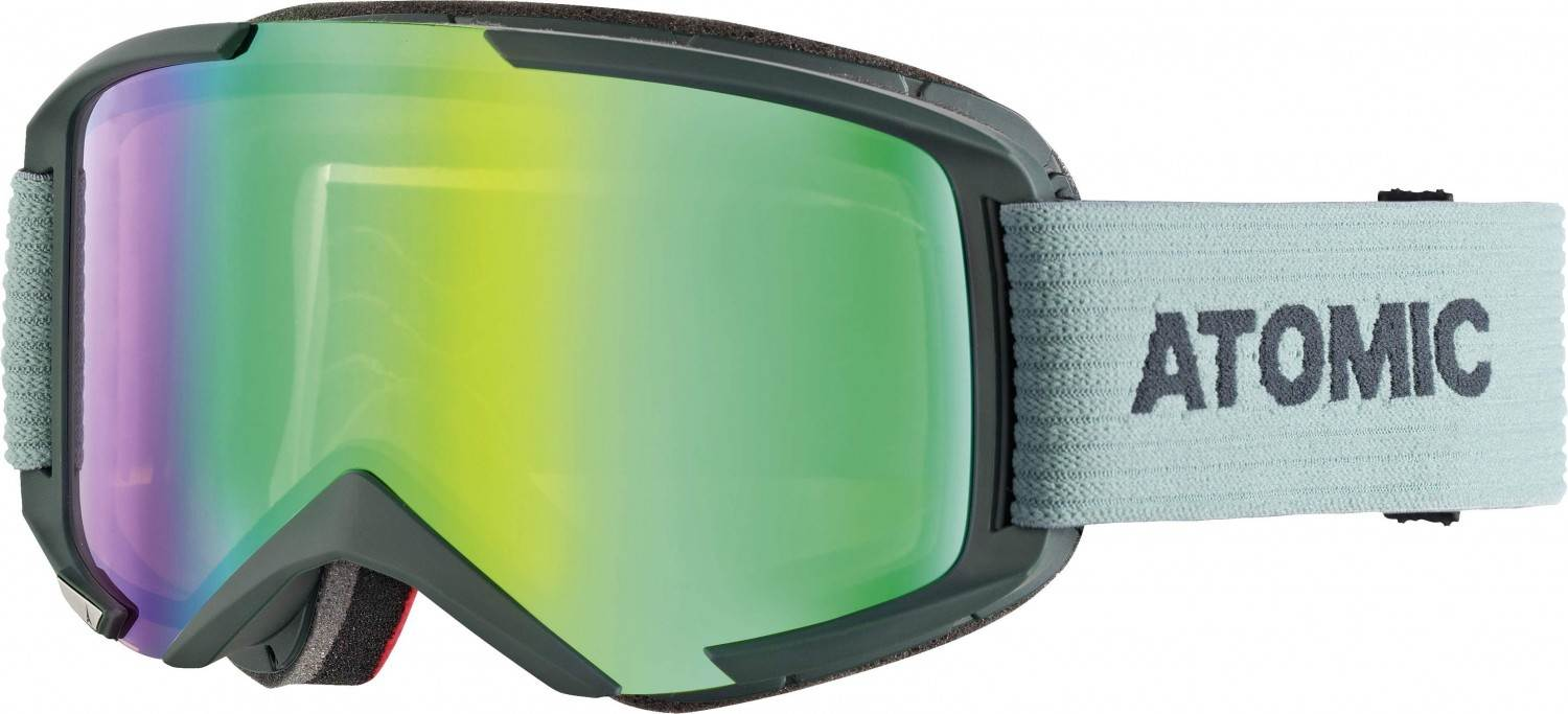 Atomic Savor M Stereo Skibrille (Farbe: green, Scheibe green stereo)