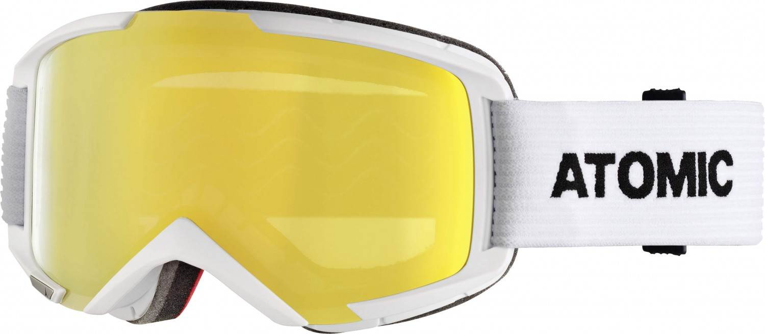 Atomic Savor M Stereo Skibrille (Farbe: white, Scheibe yellow stereo)