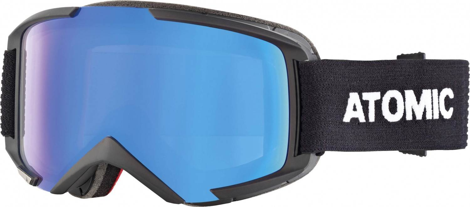 Atomic Savor M Stereo Skibrille (Farbe: black, Scheibe blue stereo)