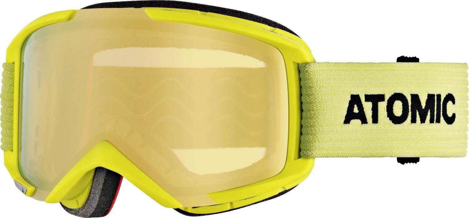 Atomic Savor M Stereo Skibrille (Farbe: yellow, Scheibe pink yellow stereo)