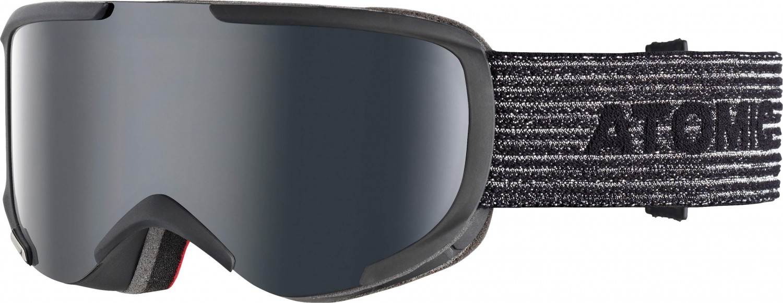 Atomic Savor S Stereo Skibrille (Farbe: black, Scheibe black stereo)
