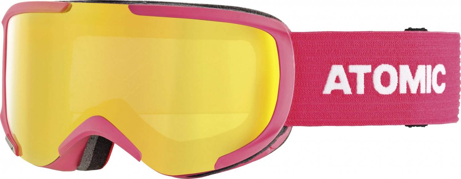 Atomic Savor S Stereo Skibrille (Farbe: pink, Scheibe yellow stereo)