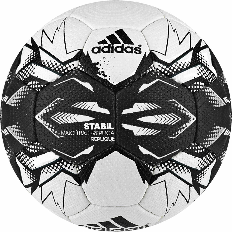 adidas Stabil Replique Handball Saison 2016 (Größe: 3 (Herren), white/black) Sale Angebote Kathlow